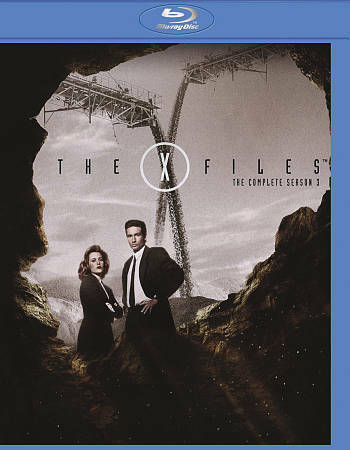 THE X FILES THE COMPLETE THIRD SEASON 3 USED EUC BLU RAY Mulder Scully