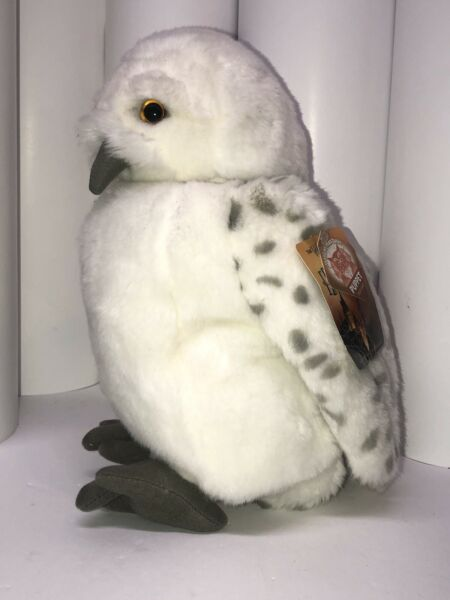 Harry Potter Snowy Owl Hedwig Puppet Plush 12quot; Universal Studios