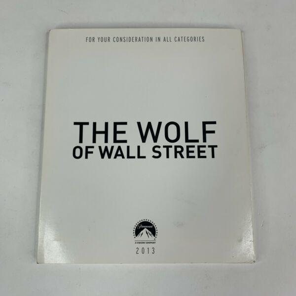 THE WOLF OF WALL STREET For Your Consideration DVD RARE Leonardo DiCaprio $12.95