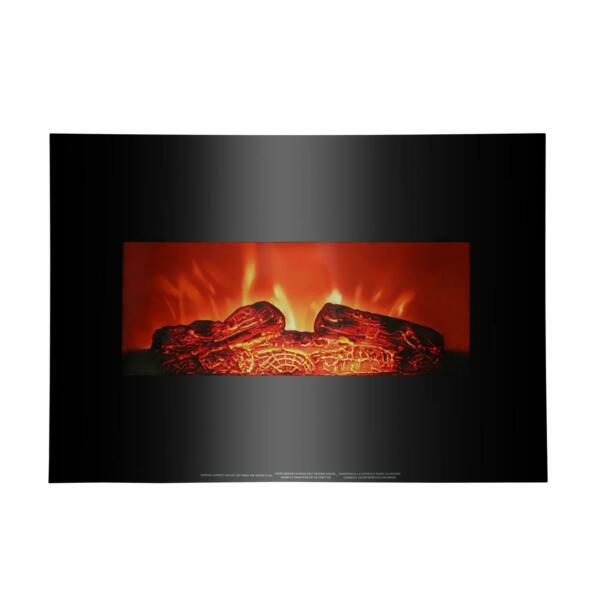 Zokop 26quot; 1400W Wall Mount Electric Safe Fireplace Heat Heater Christmas Party $89.58