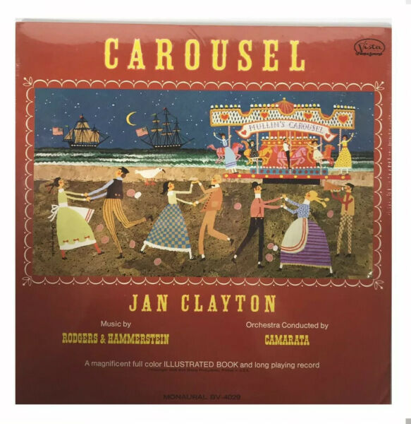 SEALED JAN CLAYTON CAROUSEL RODGERS amp; HAMMERSTEIN MUSICAL LP 1966 WALT DISNEY