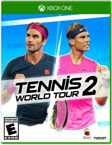 Tennis World Tour 2 for Xbox One New Video Game Xbox One $39.98
