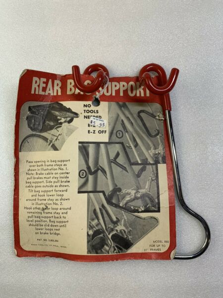 NOS BRAND NEW Vintage Bicycle Park Rear Bag Support PARK TOOL CO. $49.99