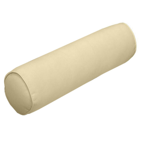 AD103 Small 23x6 Outdoor Pipe Trim Bolster Pillow Cushion Insert Slip Cover Set $37.77