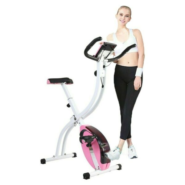 Home Gym Stationary Exercise Bike Magnetic Indoor Folding Cycling Cardio Workout $99.99