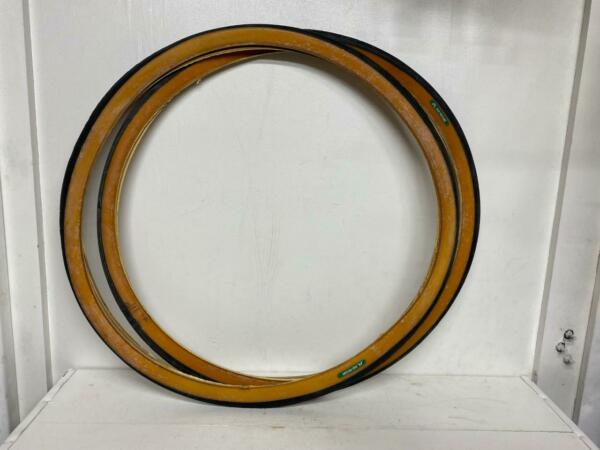 1 PAIR nos 26 x 1 1 4quot; bicycle GUM WALL Schwinn TIRES S5 S6 made by Raleigh $49.99