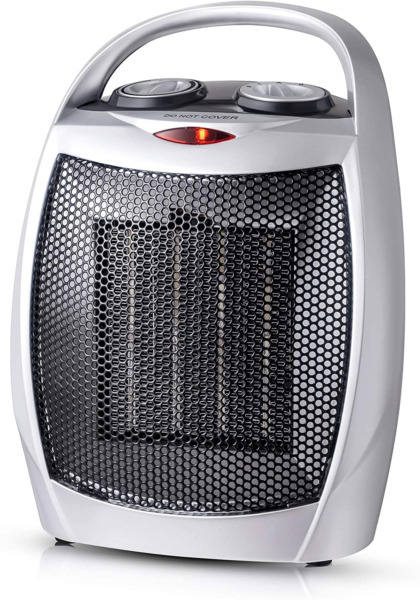 andily Space Heater Electric Heater for Home and Office Ceramic Small Heater wit $34.45