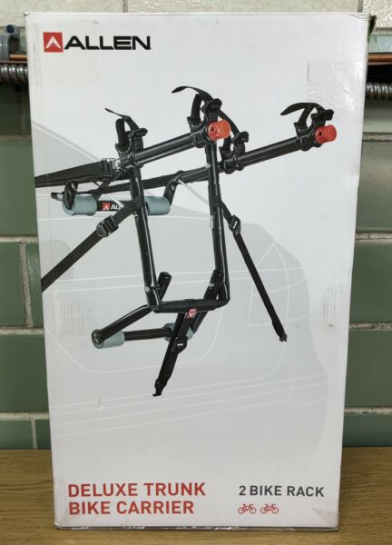 New Allen Sports Deluxe 2 Bicycle Trunk SUV Mounted Bike Rack Carrier 102DN $60.00