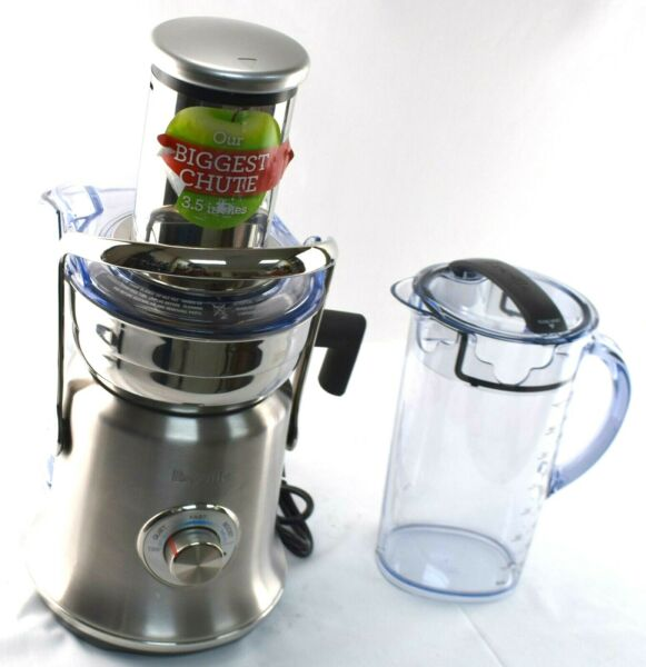 READ Breville BJE830 The Juice Fountain Cold XL Juicer Brushed Stainless Steel