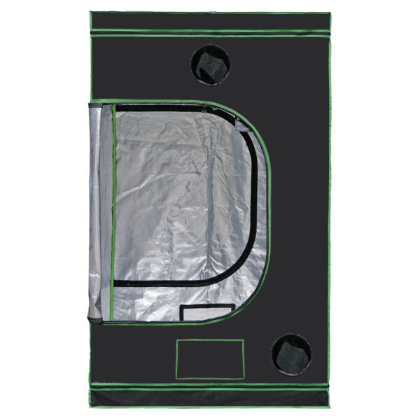 48quot;quot;x48quot;quot;x80quot; Hydroponic Grow Tent with Observation Window and Floor Tray Indoor $84.99