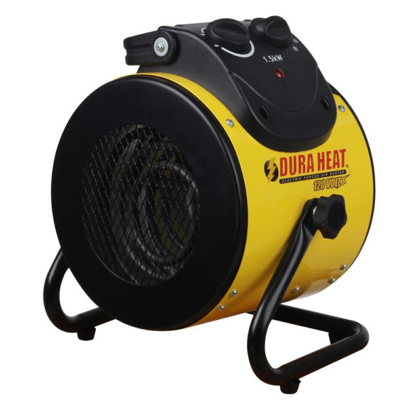 Electric Space Heater 1500W Garage Forced Air Fan Portable Utility Home Shop New $61.96