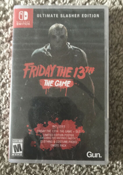 Friday The 13th: Game Ultimate Slasher Edition Nintendo Switch 2019 $25.00