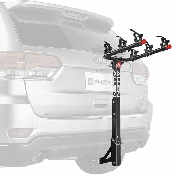 Allen Sports 3 Bike Hitch Racks for 1 1 4 in. and 2 in. Hitch Deluxe $129.99