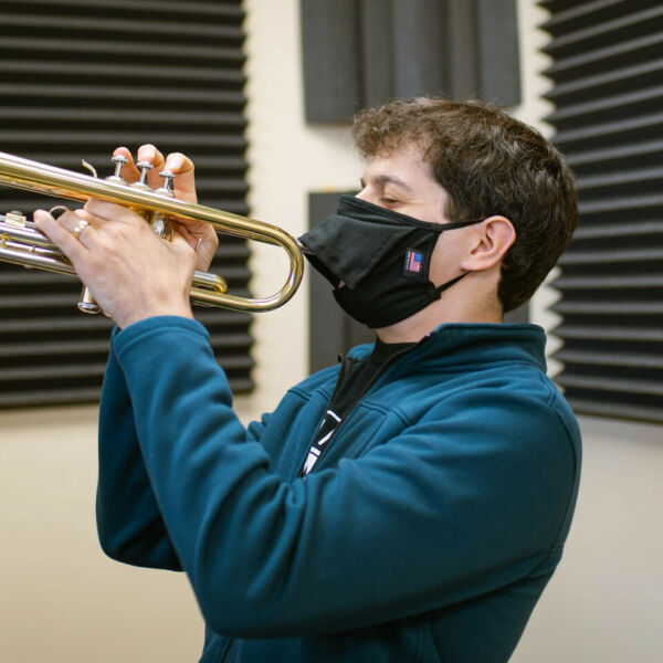 Bell Barrier Face Mask for Wind and Brass Instruments $16.95