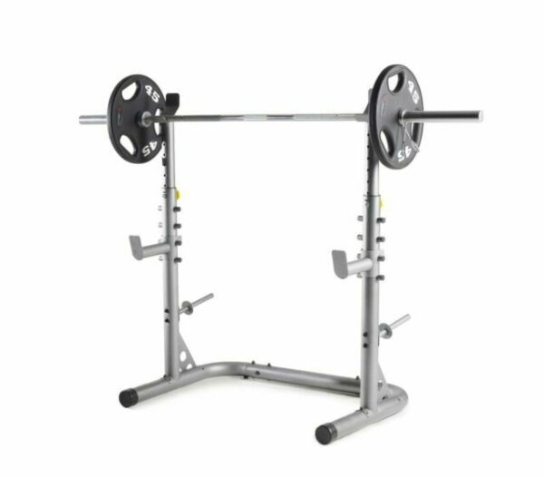 Weider XRS 20 Weight Squat Rack Adjustable Safety amp; Weight storage SHIPS FREE $199.99