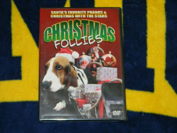 Christmas Follies DVD 2004 VERY FUNNY FOR FAMILY *NEW**FREE SHIPPING * $6.77