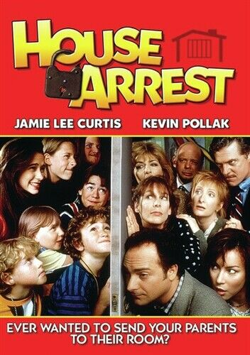 HOUSE ARREST New Sealed DVD Jamie Lee Curtis Kevin Pollak Jennifer Tilly