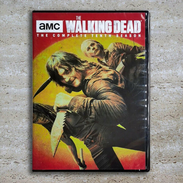 The Walking Dead Complete Season 10 DVD 4 Disc 2020 Fast Shipping US Seller