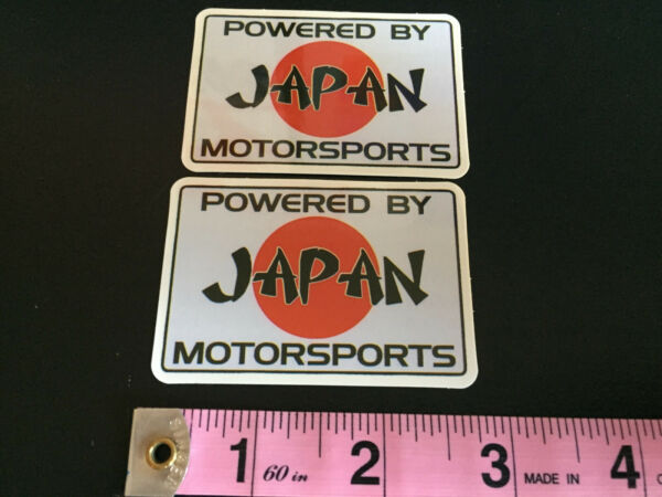 Japan racing stickers decals