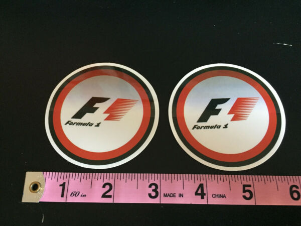 Formula 1 racing stickers decals