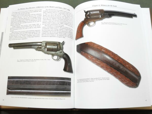quot;WHITNEY NAVY REVOLVERquot; UNION CONFEDERATE US CIVIL WAR PISTOL GUN REFERENCE BOOK