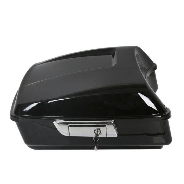 Black Chopped Tour Pak Pack Trunk For Harley 2014 20 Touring $169.90