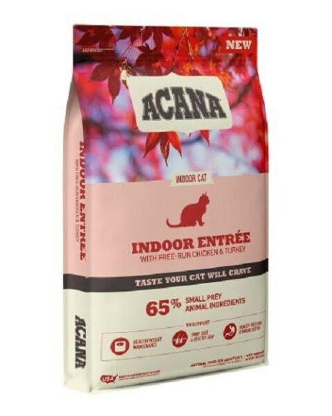 ACANA Indoor Cat and Kittens Dry Food 10 lbs. $58.80
