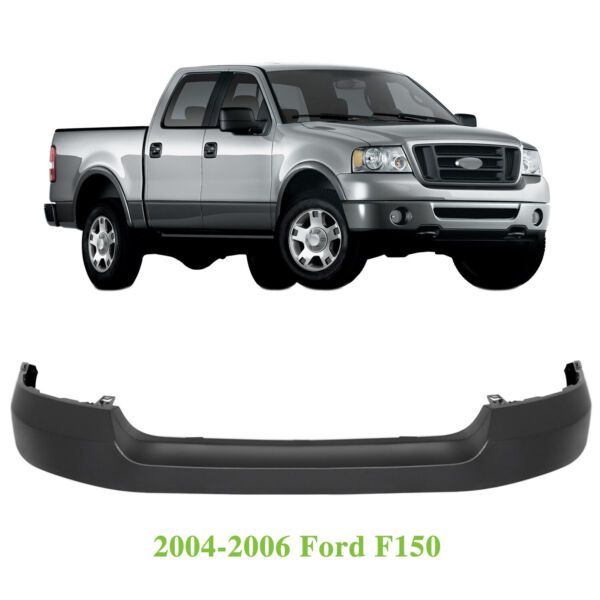 NEW Primered Front Upper Bumper Cover Fascia for 2004 2006 Ford F150 Pickup $71.99