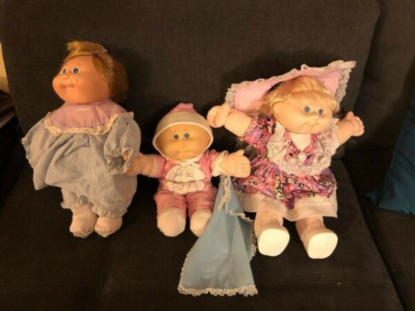 cabbage patch kids dolls vintage 80#x27;s