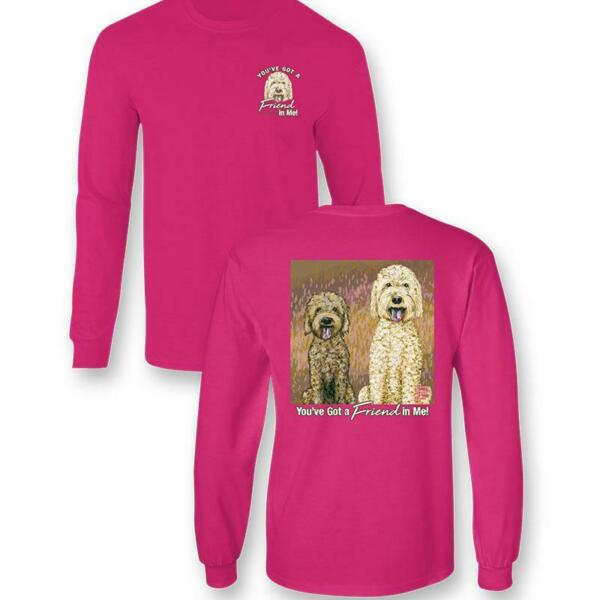 Sassy Frass Friend In Me Dogs Comfort Colors Long Sleeve T Shirt