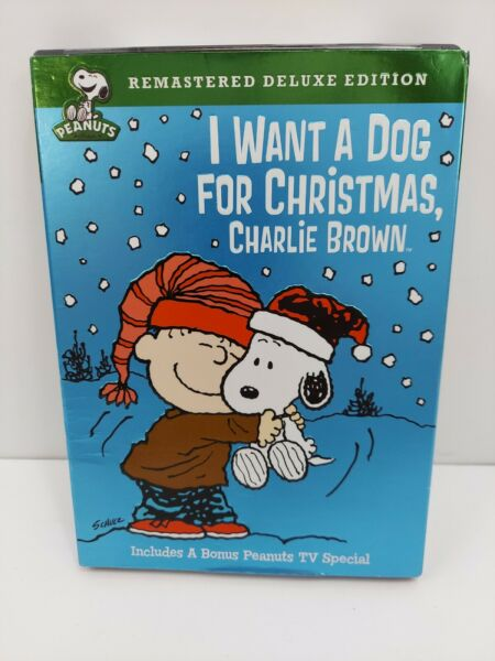 I Want a Dog for Christmas Charlie Brown DVD 2009 Deluxe Edition $5.99