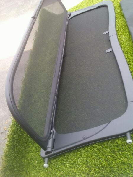 Mini Cooper Genuine OEM 2016 2019 Black Convertible Wind Deflector Screen $275.00