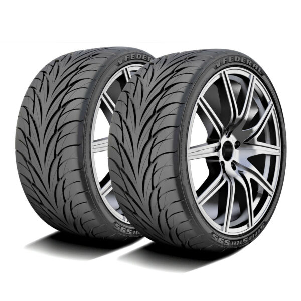 2 Federal Super Steel 595 255 40R19 ZR 96W A S High Performance All Season Tires