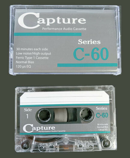 Capture Cassette Series Ferric Oxide tape Type 1 normal bias. GREAT stuff
