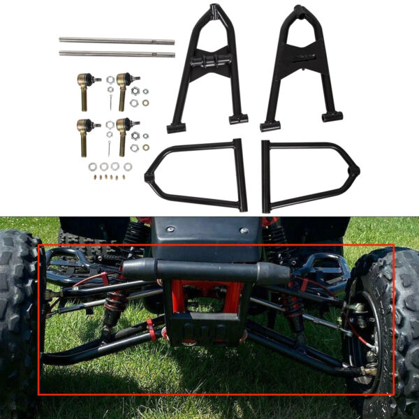 STAINLESS WIDER SPORT EXTENDED A ARMS 21 FOR ATV YAMAHA BANSHEE 350 YFZ350 $117.00