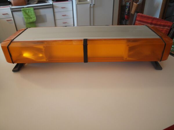 Whelen Edge 9000 28quot; Light Bar Amber Tow Truck Plow
