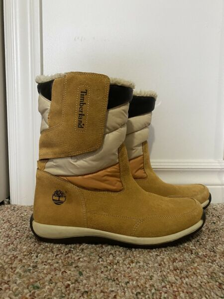 timberland winter boots Size 6y Fit Women's 8 $65.00