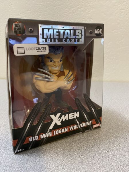 Metals Die Cast X Men Old Man Logan Wolverine Loot Crate Exclusive