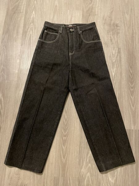 Wu Wear Denim Jeans Vintage 32 X 28 wutang clan rap hiphop Black Baggy