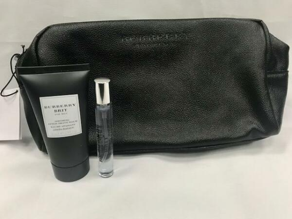 Burberry Brit by Burberry gift set for men 1.7 oz After Shave Balm0.25 oz EDT $44.99