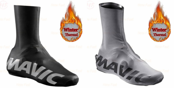 Cycling Bike Riding Racing Tri MTB Winter Fleece Shoe Covers Booties $20.00