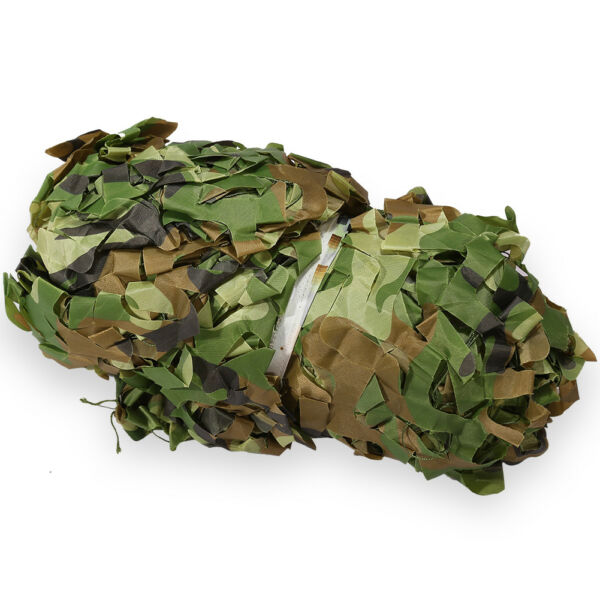Camouflage Camo Net Netting Camping Hunting Woodland Leaves Fabric Waterproof