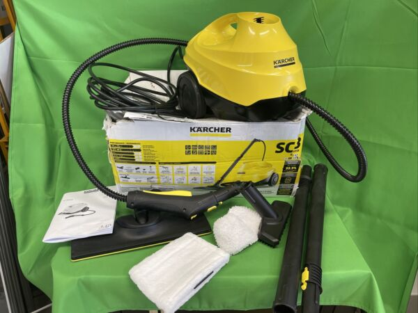 Karcher SC 3 🔥 EasyFix STEAM CLEANER quot;Made in Germanyquot; Kärcher SC3 w all tools