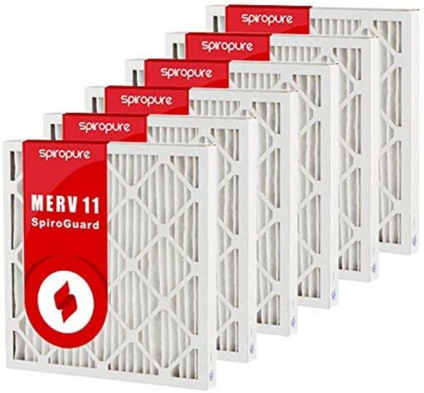 Geothermal Air Filters 30X36X2 6 PACK MERV 11 SpiroPure FREE SHIPPING USA $148.00