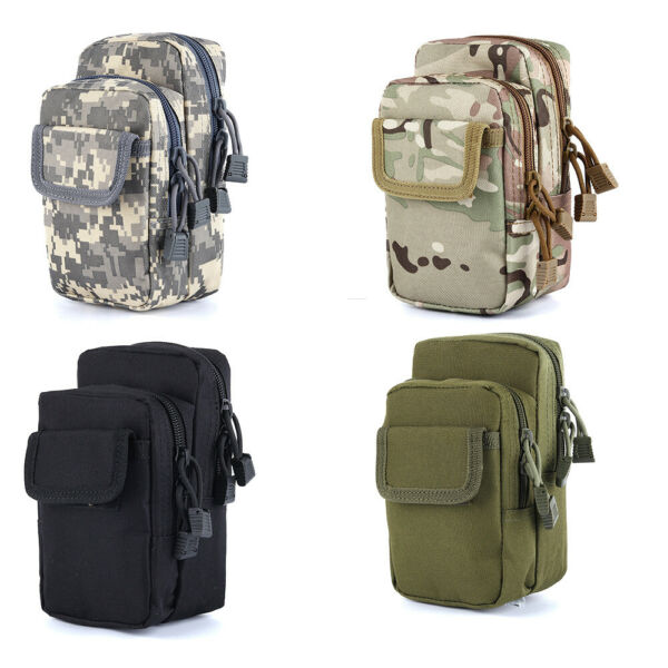 Camo Outdoor Tactical Leg Bag Thigh Waist Fanny Pack Military Hunting Sport Bag