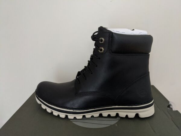 Timberland Women#x27;s Brookton Lace Up 6 inch Leather Boots NIB $89.99