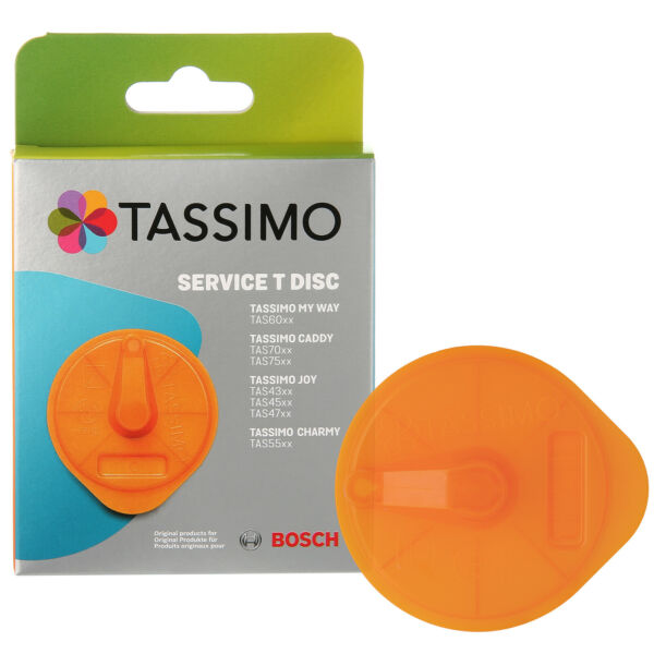 Genuine Bosch T Disc For Tassimo T55 Filter Coffee Machine Service Disk 00632396