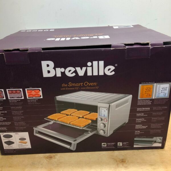 Breville BOV800XL C Smart Oven Counter Top Convection Toaster Oven Stainless