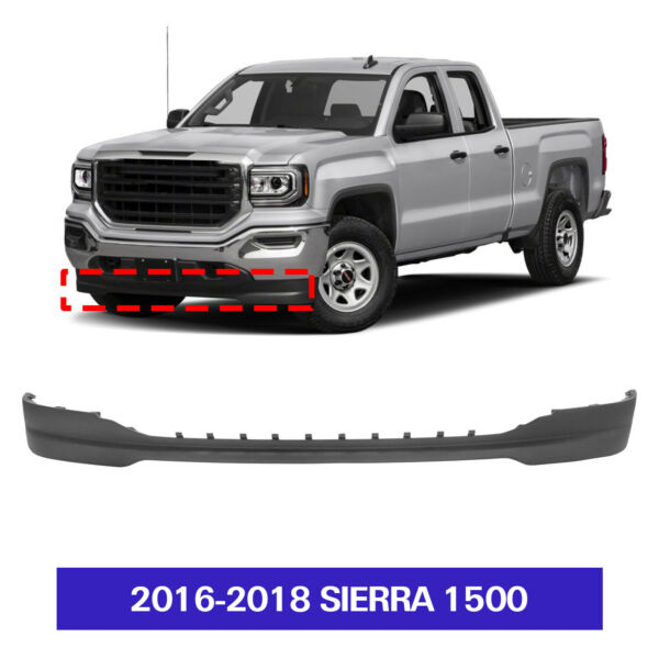 Textured Air Dam Deflector Lower Valance Apron Front for 2016 2018 Sierra 1500 $80.99