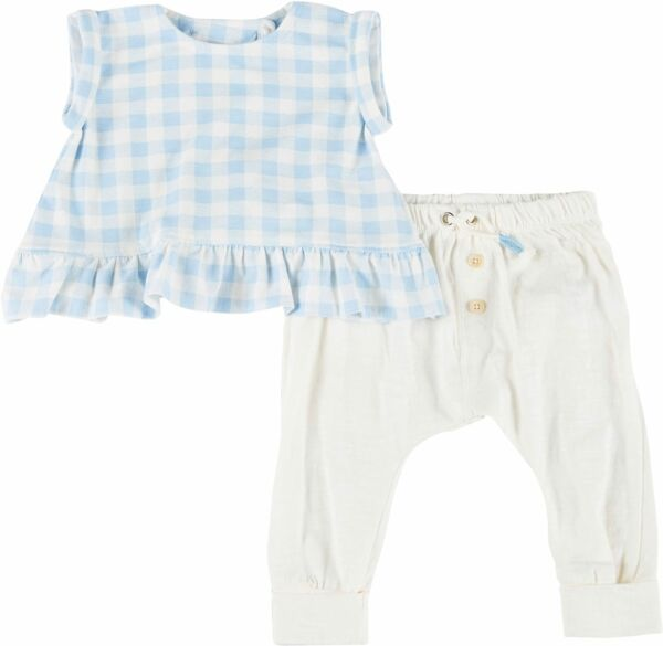 Jessica Simpson Baby Girls 2 pc. Plaid Top amp; Pant Set